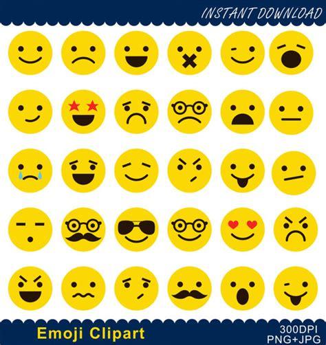 emoticons printable list emoji clipart emoticons collage clip art smiley face