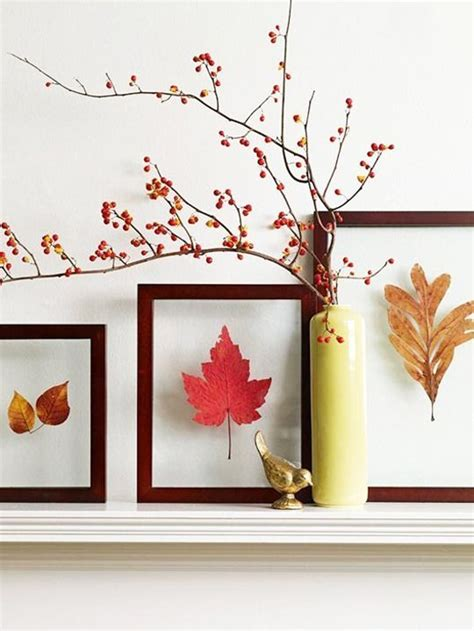 decorating with fall colors 12 brilliant diy ideas with leaves for decorating your