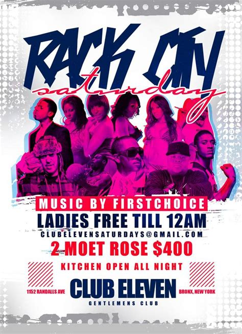 Rack City Club by Rack City Saturdays 171 Bomb Club Events And