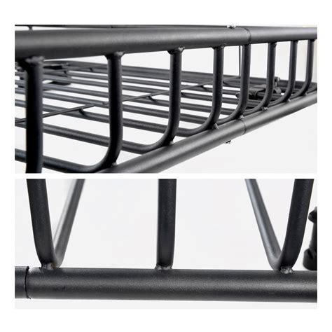 Cargo Luggage Rack by Black Steel Made Heavy Duty Cargo Carrier Top Luggage Roof
