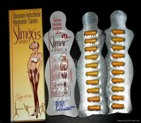 Sibutramine 30mg Hcl Capsule Pelangsing slimex sibutramine warning against slimex 15 and slimex