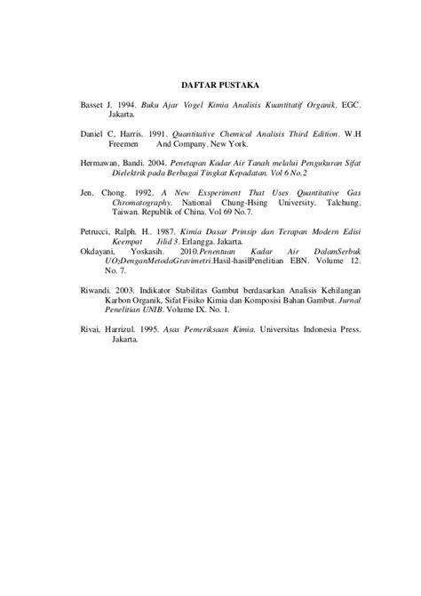 Kimia Organik Edisi 3 Jilid 1 By Fesendenhvs laporan analisis gravimetri