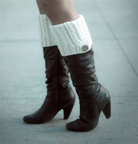 boot tops boot topper knitting pattern the blue brick