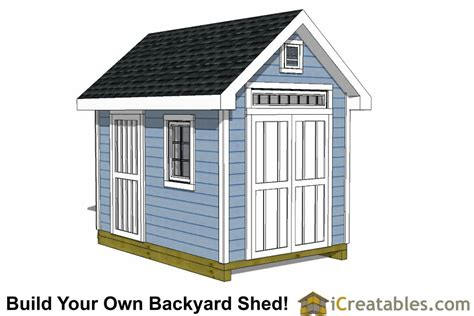 Storage Shed Plans And Cost