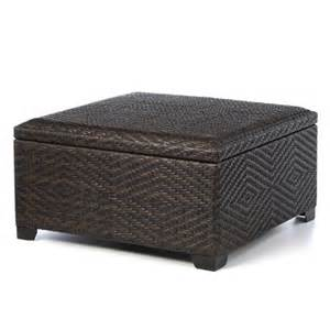 Outdoor Wicker Storage Ottoman Home Loft Concept Auckland Wicker Storage Ottoman Reviews Wayfair