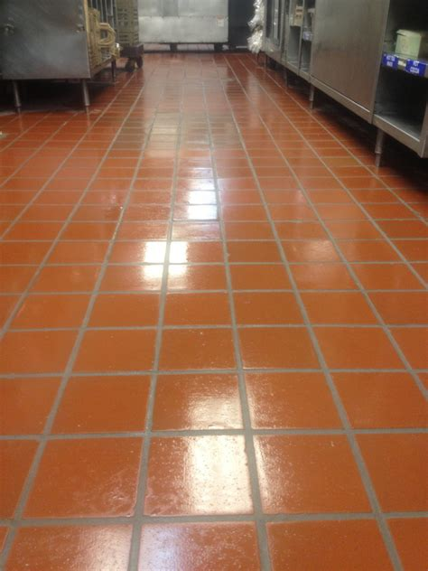 Commercial Kitchen Quarry Floor Tile Tile And Grout Imperial Solutions