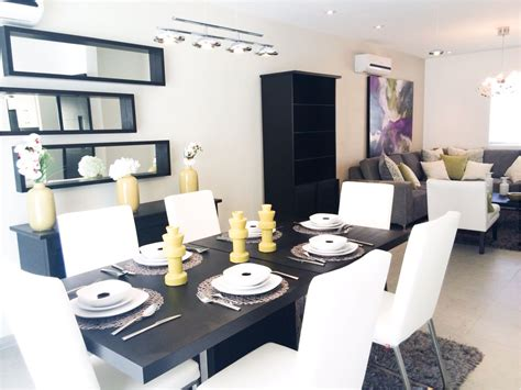 decoraciones  salas  comedores juntos sala comedor