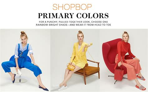 Shopbop Me Back by Shop Your Favorite Primary Colors At Shopbop Decadent