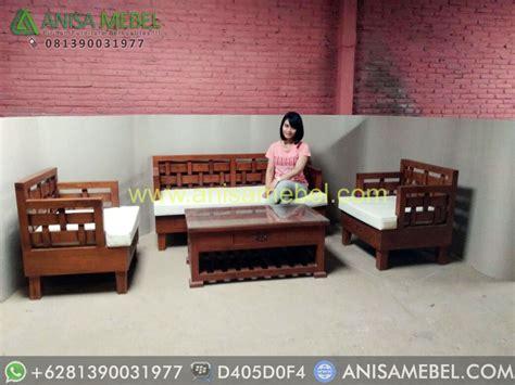 Jual Kursi Tamu Tangerang set kursi tamu jati minimalis model kepang set kursi tamu jati