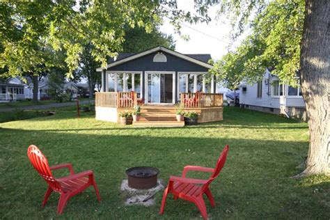 boat launch port colborne lovely cottage on beautiful sunset bay ontario vacation
