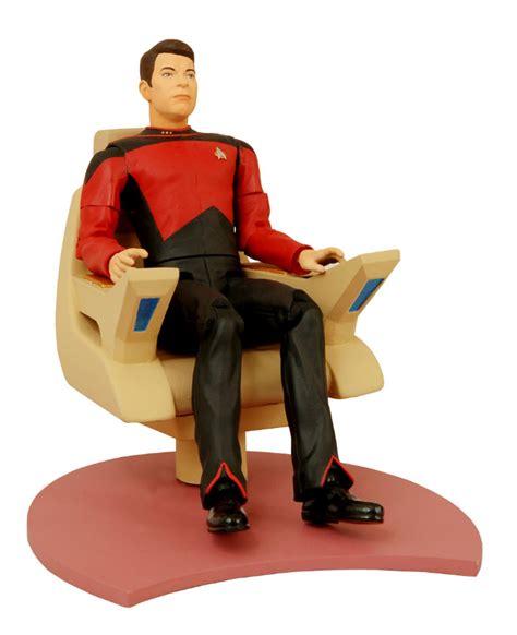 Riker Chair select toys trek the next generation