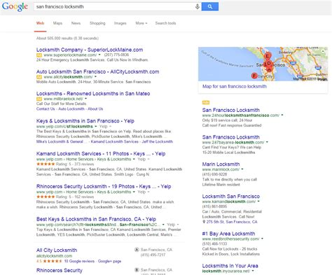 Search Services Home Services Ads For Locksmiths Plumbers Hit San