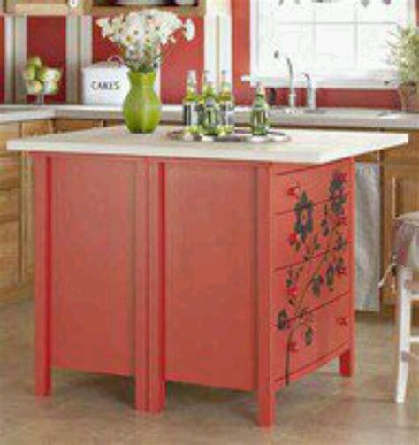 Repurposed Dresser Kitchen Island by Repurpose Dresser Into Kitchen Island Kitchen Ideas