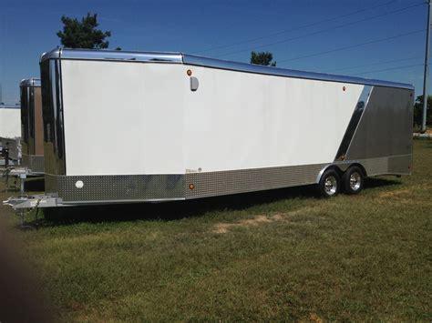 series trailer aluminum car hauler vech series enclosed rnr trailers