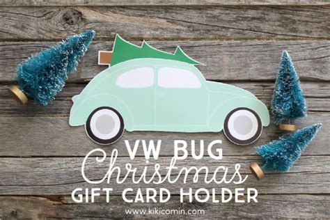 Funny Ways To Wrap Gift Cards - vw bug christmas gift card holder i heart nap time