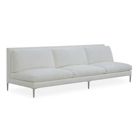extra long sectional sofa extra long armless sofa villa vici contemporary