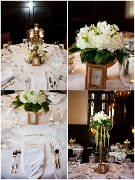 wedding decor green and gold chic modern green white and gold wedding in portland