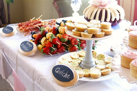 Shower Foods by Baby Shower Brunch Food Ideas