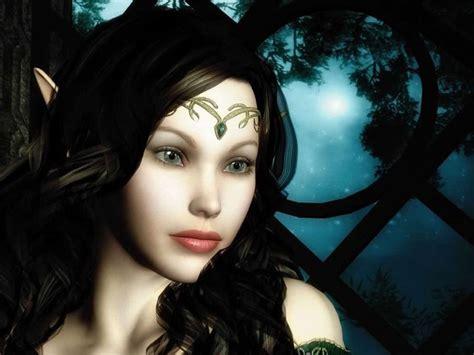 imagenes goticas bonitas bonita princesa elfa morena imagenes y carteles