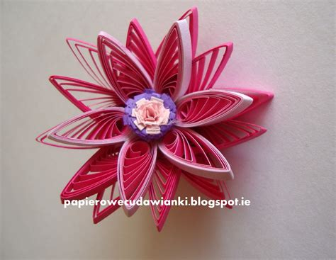 quilling kwiaty tutorial handmade kursy wzory tutoriale quilling tutorial