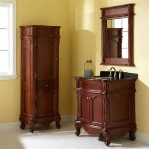 bathroom vanity and cabinet sets 30 quot sedwick brown cherry vanity bathroom