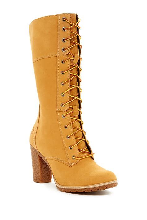 10 inch timberland boots timberland glancy 10 inch lace up boot nordstrom rack