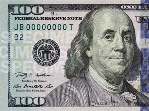 100 Dollar Mba Books by Here S The New Beautiful Us100 Bill That S Going Into