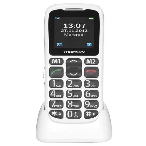 thomson serea  blanc mobile smartphone thomson sur