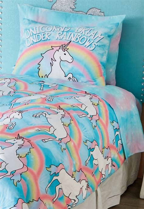 unicorn twin bedding pillow bed pillow soft daydreamer dog bed wooden window