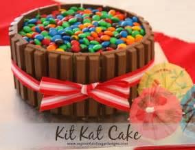 kitkat kuchen kit birthday cake a spoonful of sugar