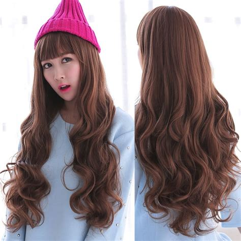 new fashion brown wig s wavy new fashion curly wavy hair brown wigs