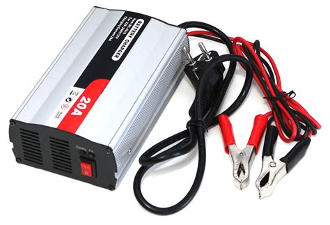lade led a batteria autobatterie ladeger 228 t f 252 r 12v batterien dc 20a bc 20 a