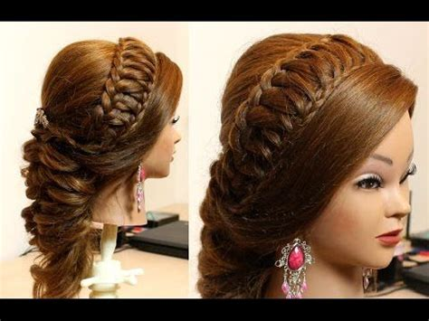 homecoming princess hairstyles woven knot half up hair style princess and prom