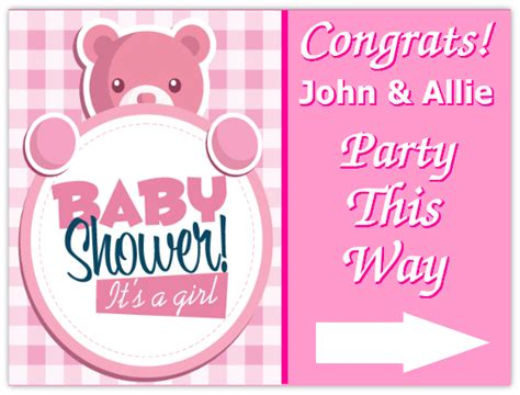 Baby Shower Signs by Baby Shower Sign 101 Baby Shower Sign Templates