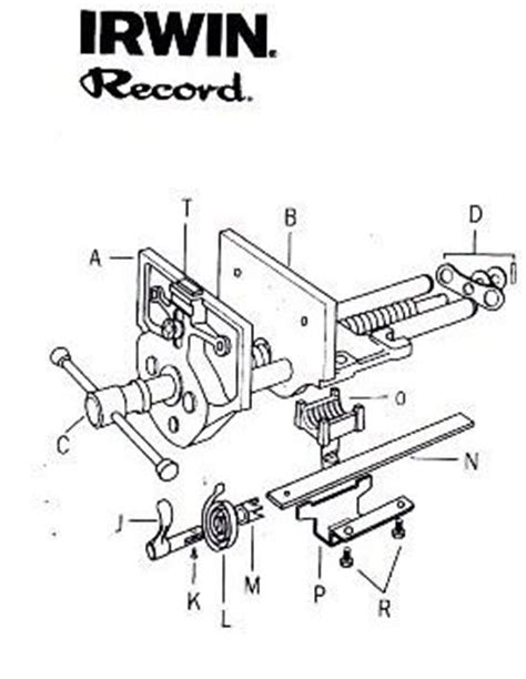 ukworkshopcouk record vice  quick release parts