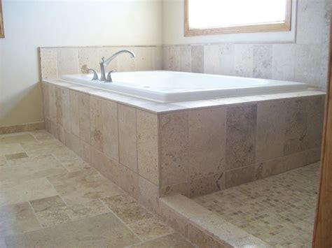Cheap Bathtub Surrounds by Bathtub Surrounds Travertine Tile Bathtub Surround Idea