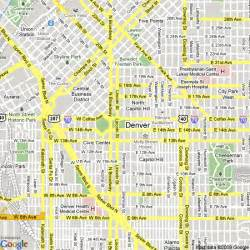 map of denver colorado united states hotels accommodation
