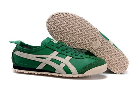 Asics Onitsuka Tiger Mexico 66 Deluxe Warna Green Green Offwh purple blue onitsuka tiger deluxe nippon made shoes