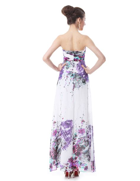 2007 The Printed Dress by New Printed Chiffon Maxi Evening Formal