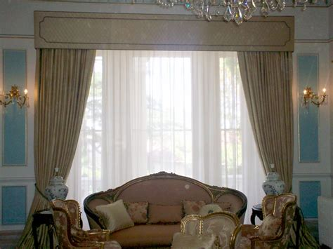 Valance Sewing Patterns Custom Made Curtains With Straight Pelmet Hole In The