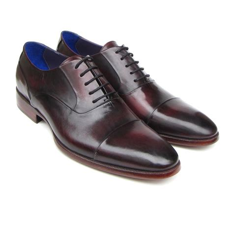 paul parkman shoes paul parkman cap toe oxfords purple mensdesignershoe