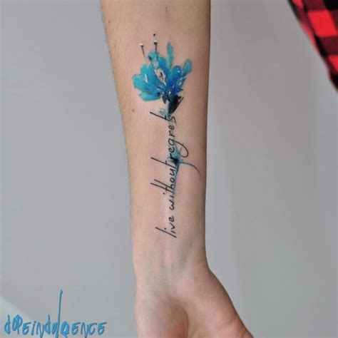 blue cornflower tattoo www pixshark com images