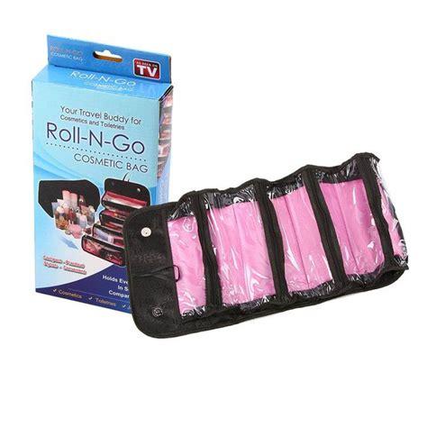 Roll N Go Cosmetic Bag Make Up Organizer Travel Mate roll n go organizer borsa per trucco make up cosmetici