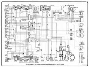 honda cx500 cx500 a cx500 b uk and cx500 us 1978 79 electrical wiring diagram all about