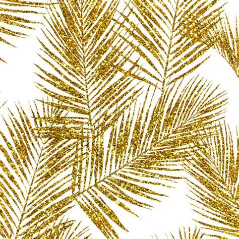 lutece wallpaper glitter trees foliage gold glitter palm leaves white small silhuettes faux