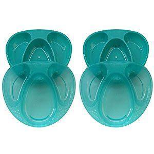 tommee tippee explora section plates tommee tippee explora section plates 4 pack blue
