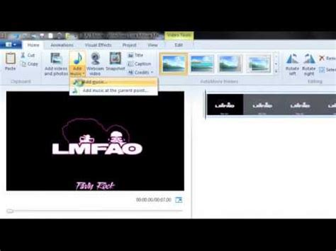 windows movie maker tutorial for beginners how to make a music video for beginners windows live