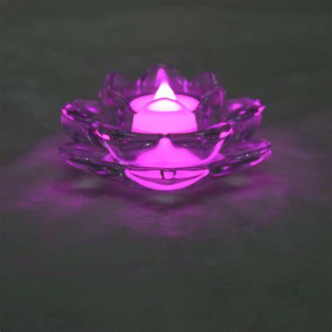 kerzenhalter lotus transparent lotus kerzenhalter aus glas teelicht