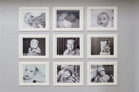 home improvement grow with me gallery wall and