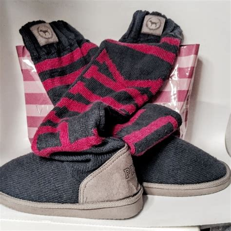 secret mukluk slippers s secret s secret pink gray mukluk